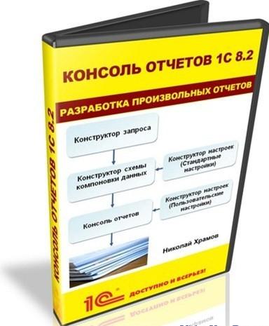 Видеокурс «Консоль отчетов 1С 8.2. Разработка произвольных отчетов»